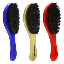 Magic Wave Brush Hard Soft Premium Boar Bristles Wooden Handle Quality WBR001AH