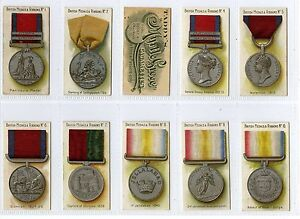 Full Set, Taddy, British Medals & Ribbons VG-EX 1912 (Gy089-456)