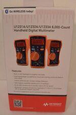 (NEW) Keysight U1231A True RMS 6000 Count Handheld Digital Multimeter