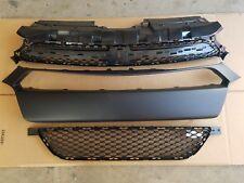 fits 2013-2016 DODGE DART Front Bumper Molding & Upper & Lower Grille 3PC SET