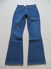 Levi's indigo -/dark-washed Damen-Bootcut-Jeans mit niedriger Bundhöhe (en)