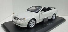 Kyosho Mercedes-Benz CLK Cabrilolet 1:18 09003W White, Rare Model