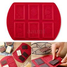 Christmas Xmas Silicone Cake Mold Decorating Fondant Cookie Chocolate Baking Mat