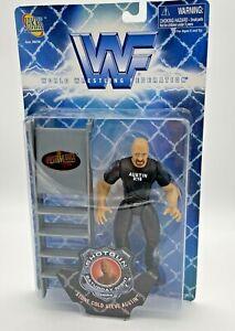 World Wrestling Federation Stone Cold Steve Austin WWF Action Figure,1998  NIB