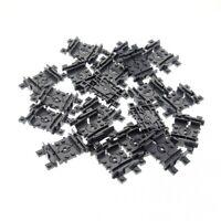 20x Lego Schiene neu-dunkel grau Flex Gleis Zug RC 4535745 88492c00