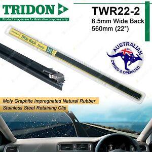 2x Tridon Plastic Back Wiper Refills for Land Rover 110 3.5 3.9 Series I II III