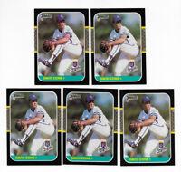 (7) 1987 DONRUSS 1990 LEAF 1994 STARTING LINEUP CARD DAVID CONE METS ROYALS