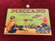 catalogue brochure de jouet N 19 meccano