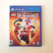 NEW & FREE SHIPPING! LEGO DISNEY PIXAR THE INCREDIBLES (Sony PlayStation 4,2018)