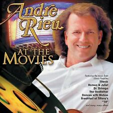 at The Movies by Andre Rieu CD 795041734822