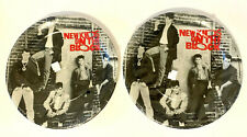 """2 Sets of 8 1990 """"NEW KIDS ON THE BLOCK"""" Large Paper Plates - New In Sealed Pkgs"""