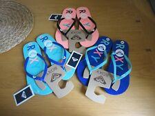 Roxy Flip Flops Pink or Blue Size 4 5 6 BNWT FREEPOST