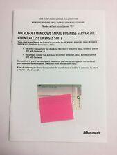 5er CAL USER (Benutzer) für Windows 2011 Small Business Server SBS Standard