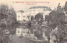 Spain Barcelona Casino del Parque-Fachada del Lago