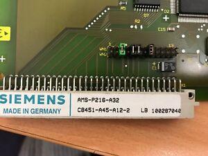 SIEMENS AMS-P216-A32, C8451-A45-A12-2, LB 100287040