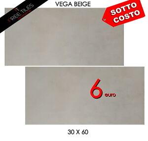Piastrelle Pavimento Gres Porcellanato 30 X 60 VEGA BEIGE SOTTOCOSTO 6 €