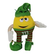 M & M Yellow Christmas Xmas Elf Plush Toy 30cm tall M and M