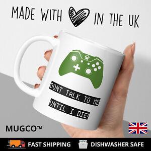 Personalised GAMER Mug Funny Novelty Gift Christmas Birthday Son Nephew