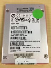 HP 400GB SAS SOLID STATE DRIVE 2.5IN 768268-001 767896-001 767919-001
