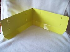 YELLOW GALVANIZED STEEL RABBIT CAGE CORNER GUARD PARTS urine dirt deflector