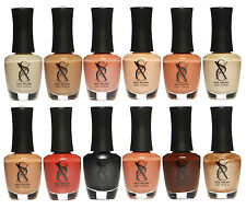 SXC Neutral Nude Nail Polish Lacquer 15ml/0.5fl set of 12 Colors lot