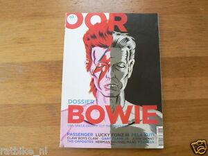 OOR MUSIC MAGAZINE 2013-03 DAVID BOWIE DOSSIER SPECIAL ISSUE,CLARK,FOXYGEN,GRANT