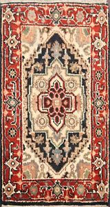 Geometric Traditional Hand-knotted Oriental Area Rug Home Decor Wool Carpet 2x3