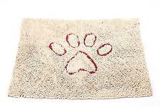 "DogGone Smart NEW Beige Dirty Dog Mat Super Absorbent Microfiber 35"" x 26"""