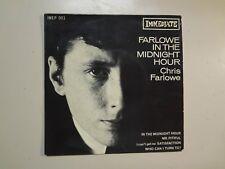 "CHRIS FARLOWE:(w/Richard Of Stones)Farlowe In The Midnight Hour-U.K.7"" 65 EP PCV"