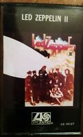 Led Zeppelin II Cassette Tape Atlantic Recording Corp With Case