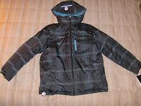 ZeroXposur NWT black/gray/blue 3 in 1 jacket system, XL (18-20) youth boy