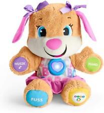 Fisher-Price FPP53 Lernspaß Hundefreundin Plüschtier Lernspielzeug ab 6 Monaten