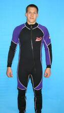 Wetsuit 1MM Large Mens Purple and Black  Scuba Snorkel Surf 8802