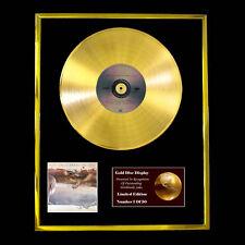 RUSH GRACE UNDER PRESSURE CD GOLD DISC RECORD FREE P&P!