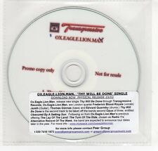(GO8) Ox Eagle Lion Man, Thy Will Be Done - DJ CD