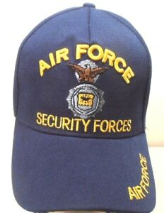 U.S. AIR FORCE SECURITY FORCES MILITARY CAP  NAVYBLUE HAT