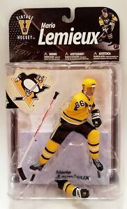 MARIO LEMIEUX Penguins Yellow Jersey VARIANT Mcfarlane Figure NHL 71/100 ERROR