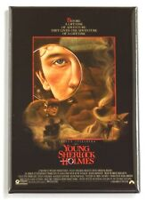 Young Sherlock Holmes Fridge Magnet (2 x 3 inches) movie poster