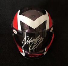 Johnny Benson Signed Bell Fan Club Mini Racing Helmet