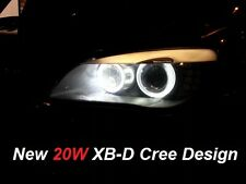 BMW 7 SERIES F01 / F02 ANGEL EYE LED Halo Anelli Luce Upgrade Lampadine MARCATORE KIT