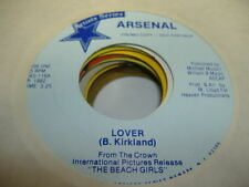 HEAR! Private Rock Power Pop New Jersey 45 ARSENAL Lover on Peter Pan Artists Se