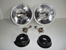 CHRYSLER DODGE DART BARRACUDA MOPAR 7 INCH HEAD LAMP LIGHT H4 2 BULBS INCLUDED