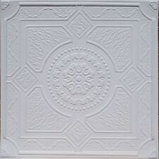 "DROP IN or GLUE ON UNIVERSAL 24""X24"" PVC Ceiling Tile - PERU White"