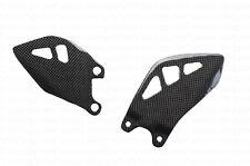 (11-16) Kawasaki ZX10R ZX10 R Heel Foot Guard Plate Sheild Carbon Fiber Fibre