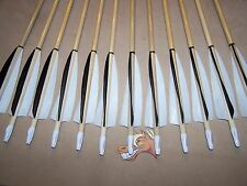 12  CEDAR    TRADITIONAL WOOD ARROWS   YOU PICK SPINE 40 to 60