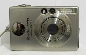Canon PowerShot Digital ELPH S200 2.0MP Digital Camera Silver