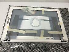 """Brand New 13"""" Apple MacBook White Unibody Display Housing And Bezel 076-1409"""