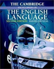 The Cambridge Encyclopedia of the English Language by David Crystal Paperback Bo
