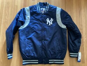 New York Yankees Snap Button Starter Jacket New with Tags - Men's Large