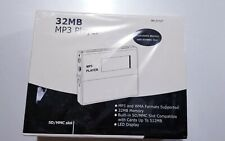 32 MB MP3 Player WMA SD/MMC SLOT with LED Display NEW SEALED !!!!